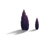 Purple Pine Trees