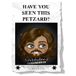 Animated Wanted Petzard Poster