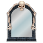 Skeleton Mirror