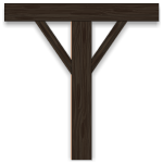 Oak Country Style Column