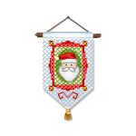 Cross Stitch Santa 3