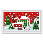 Christmas Town Cross-Stitch