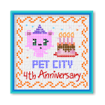 Pet City 4th Anniversary Wall Hanging