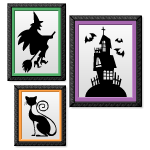 Halloween Trio Wall Art