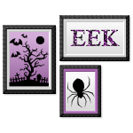 Halloween Trio Eek Wall Art