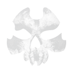 Ghostly Skull Decal 2