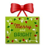 Merry and Bright Wall Decor