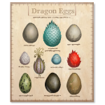 Habi - Dragon Eggs Poster