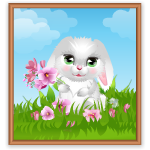 March Special Bunny Wall Art