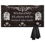 Witches Coat Rack
