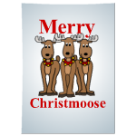 Merry Christmoose Poster