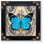 Vintage Butterfly Wall Art