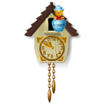 Honey Bear Cuckoo Clock