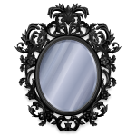 Gothic Mansion Mirror