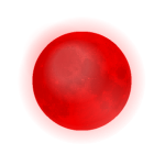 Crimson Moon Decal