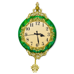 Emerald Pendulum Clock