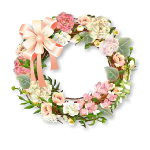 Spring Wreath Wall Decor