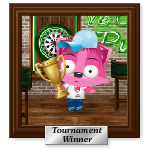 Pet Tournament Winner Portrait