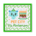 Pet City 7th Anniversary Wall Hanging