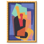 Multicolored Art Deco Wall Art