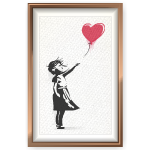 Girl with the Balloon Painting