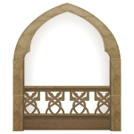 Castle Balcony Arch