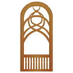 Rivenville Arched Window