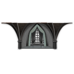 Gothic Palace Recessed Area