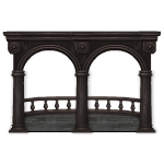 Gothic Mansion Balcony