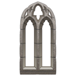 Medieval Arched Stone Window